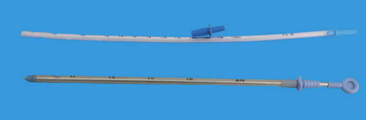 CHEST DRAINAGE CATHETER / TROCAR